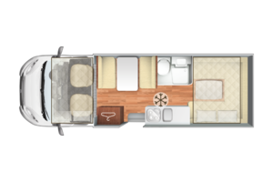 Floorplan of Motorhome
